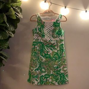 Lilly Pulitzer Shift Dress (Seeing Pink Elephants)